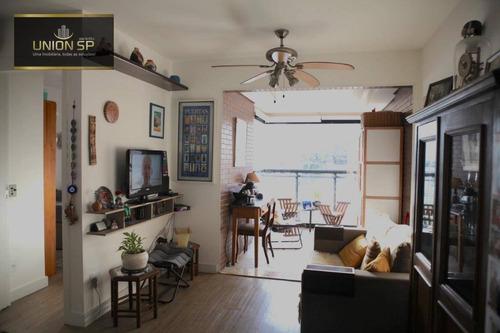 Imagem 1 de 16 de Apartamento Com 1 Dormitório À Venda, 41 M² Por R$ 550.000,00 - Brooklin - São Paulo/sp - Ap49388