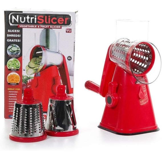 Nutri Slicer- Cortador De Frutas Y Verduras- Cv Directo