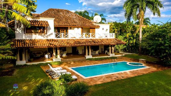 Precio Reducido!!! Villa De Lujo 4 Dorm /4 Bañ,casa De Campo