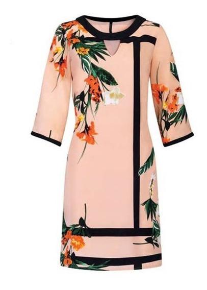 Vestido Rinna Bruni Multicolor 15721..outlet/saldos Mchn