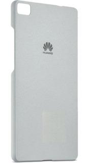 Funda Celular Huawei P8 Gris Claro