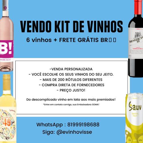 Venda Personalizada De Vinhos - Rótulos Diferenciados