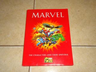 Libro Marvel Universo Y Personajes 75 Aniversario