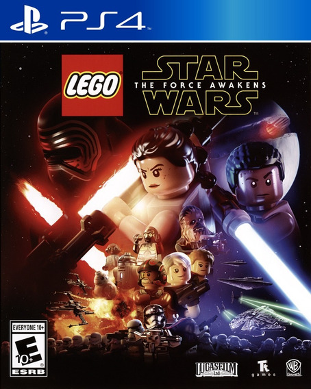 Lego Star Wars The Force Awakens Ps4 Cd Fisico Original Full