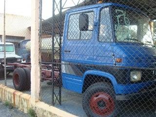 Pick-up,caminhonete,mb 608 Ano 76 Cor Azul Sem Carroceria