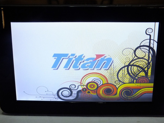 Tablet Titan Pc7007b 8gb Bateria Danif./só Liga C/carregador