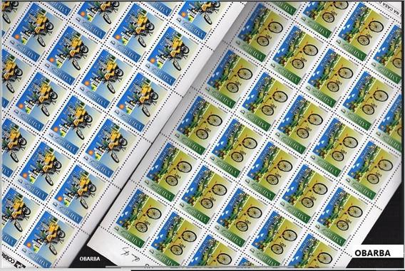 1994 - C-1885/86 - Folhas Selos Veículos Postais Upaep 94