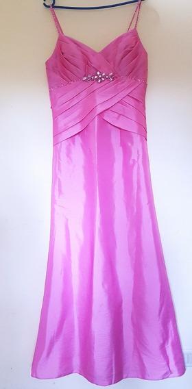 Vestido Rosa Pastel Para Fiesta