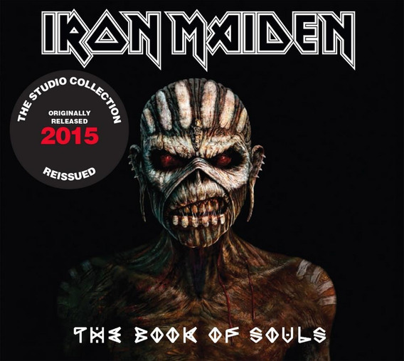 Cd Iron Maiden - The Book Of Souls-2 Cds (2015) - Remastered