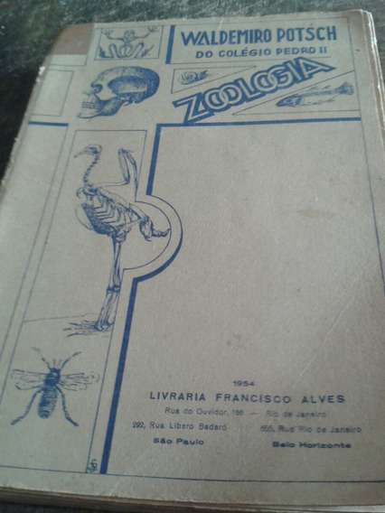 Zoologia-waldemiro Posth 1954 (do Colégio Pedro Ii)