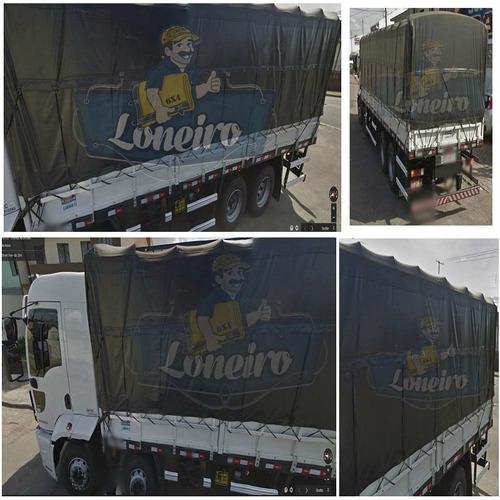 Lona 10 X 8 Mt Caminhão Carreta Lonil Vinil Pvc Emborrachada