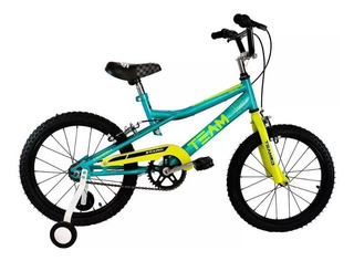 Bicicleta Rodado 16 Stark Team Junior Varon Mtb + Rueditas