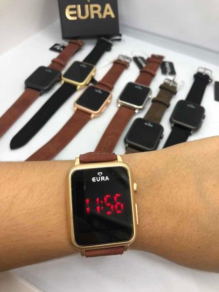 10 Relógios Eura Touch + Caixinha Personalizada +revenda