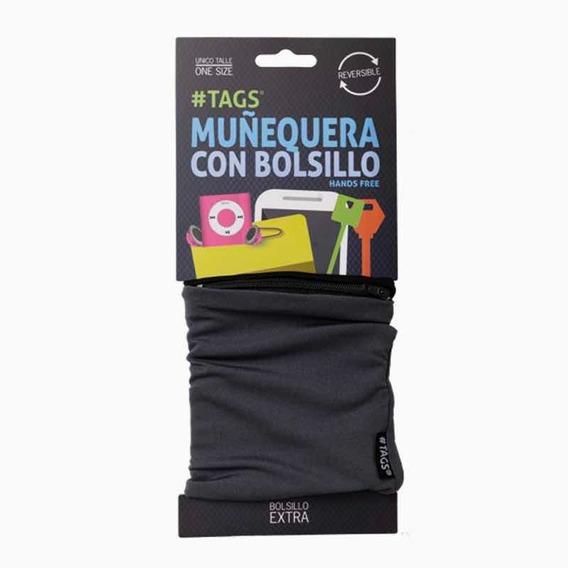 Muñequeras Con Bolsillo Y Cierre.