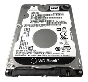 Hd Wd5000lplx Black Slim 500gb 7200 Rpm Notebook