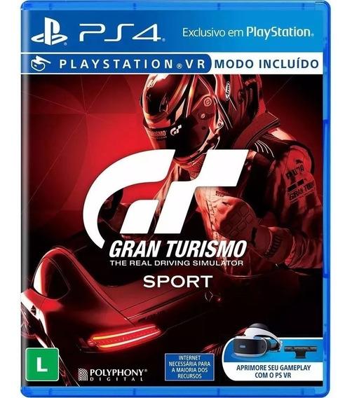 Gran Turismo Sport Gt Ps4 * Lacrado!