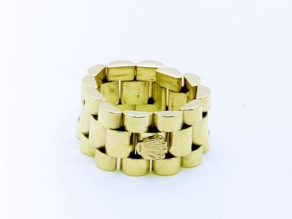Anillo De Oro Macizo 14kt Rolex 11.2gr