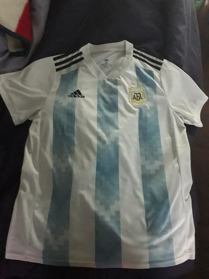 Camiseta Sel.argentina 2018 Origi Talle Xl