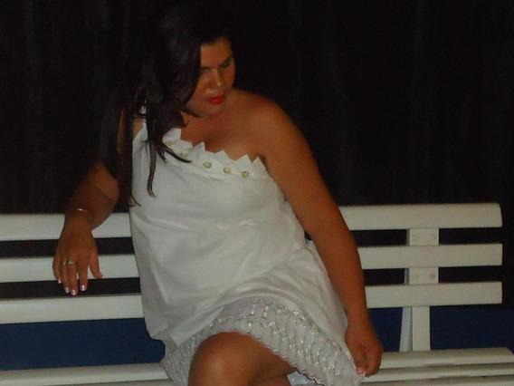 Vestidos Branco Com Pedras