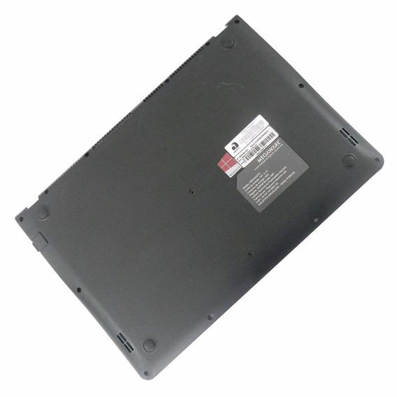 Carcaça Caixa Base Megaware Slim Black Pw-mn491 S0412140101