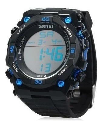 Relógio Masculino Digital Skmei 1130 Com Nota Fiscal