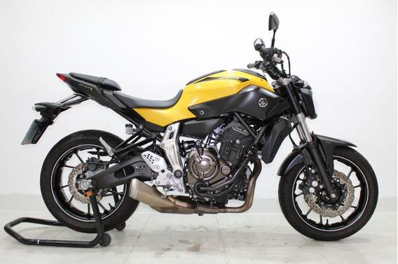 Yamaha Mt 07 Abs 2017 Amarela