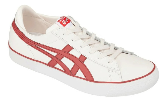 Tênis Fabre Bl-s 2.0 Cream/burnt Red Onitsuka Tiger Original