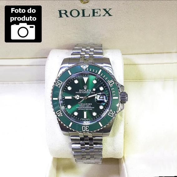 Submariner Mostrador Verde Ceramica Rolex Em Até 12 Vezes