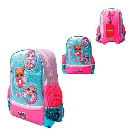 Mochila Lol Surprise Jardin 12¨ 20 X 30 Cm Original 2020