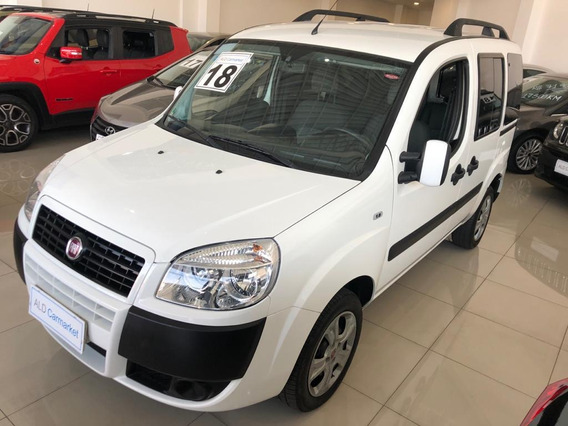 Fiat Doblo Essence 1.8 Flex Manual 7 Lugares Completo