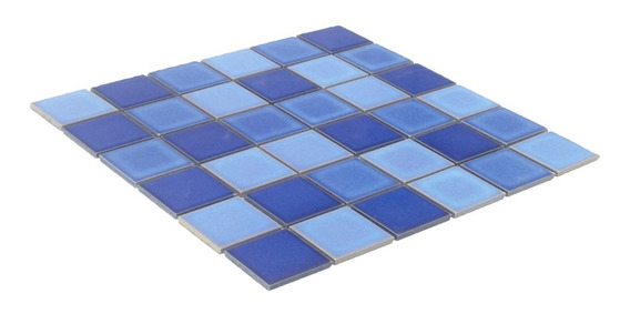 Mosaico Piscina Degradato Mix Blue Brezza