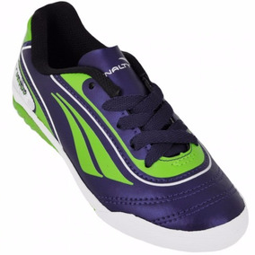 Tenis Penalty Futsal Roxo C/ Verde 116064( Super Barato )