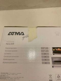 Horno Atma Hg2310e Gris Metalico