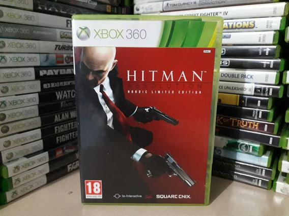 Jogo Hitman Absolution Xbox 360 Original Mídia Pal E Ntsc