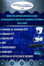 Reparacion Camaras De Seguridad Cctv- Dvr - Ptz -audio/video