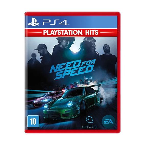 Need For Speed - Ps4 Novo Lacrado Mídia Física