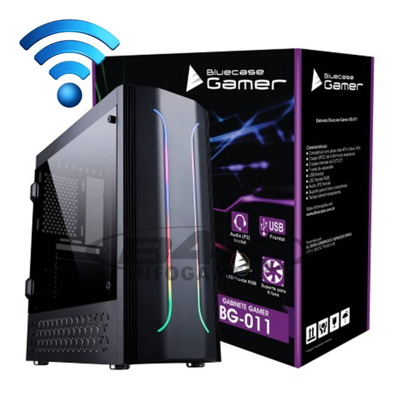 Pc Gamer Core I5 / 8gb / Ssd 240gb / 500gb / Gtx 1050 Novo