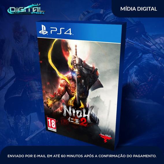 Nioh 2 Ps4 Psn Mídia Digital Lançamento Envio Hoje!
