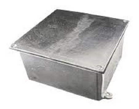 Imagem 1 de 6 de Caixa Aluminio 10x10x06 ( 10 Peças)