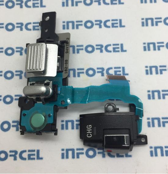 Flex Zoom E Botao Foto Sony Dcr Sx83 Original Retirada