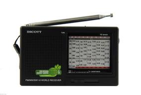 Rádio Receptor Scott Rx16 Am/fm/sw Ondas Curtas Importado