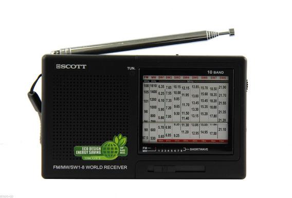 Rádio Receptor Scott Rx16 Am/fm/sw Importado Frete Grátis