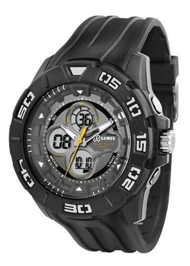 Relógio X-games Digital Masculino Xmppa132 Sport Preto