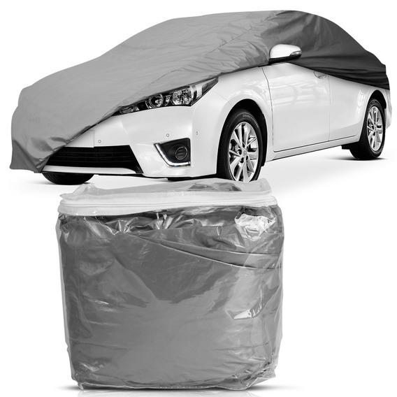 Capa Para Cobrir Carro Impermeável Com Forro Central G