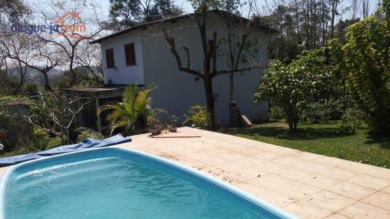 Chácara Com 3 Dormitórios À Venda, 2500 M² Por R$ 470.000 - Chácara Guanabara - Guararema/sp - Ch0121