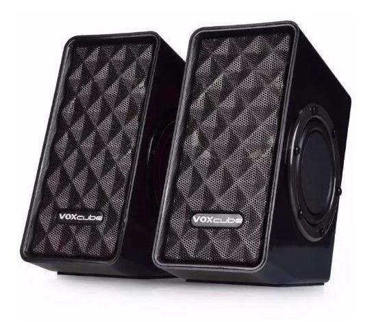 Caixa De Som Pc Super Bass Voxcube Vc-d400 8w