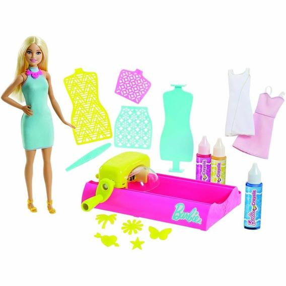 Barbie Crayola Salón De Colores