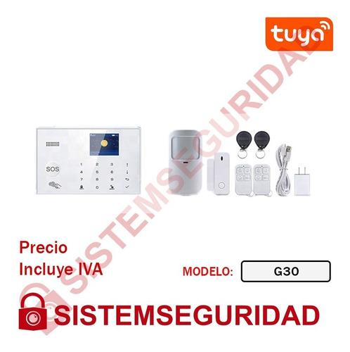 Equipos Inteligentes Tuya Smart Alarma Wifi Foco Magnetico