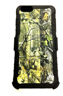 Funda Clip Rudo 3n1 Camuflaje iPhone 6s 7 8 X Plus + Envio