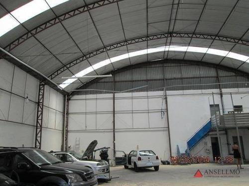 Imagem 1 de 6 de Galpão Para Alugar, 380 M² Por R$ 18.500,00/mês - Vila Santa Luzia - São Bernardo Do Campo/sp - Ga0037